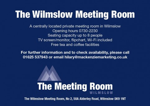 The Wilmslow Meeting Room Front