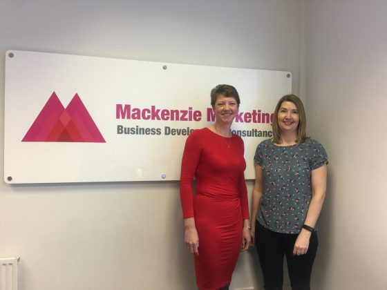 New Team Member Wendy singleton and Catherine Mackenzie